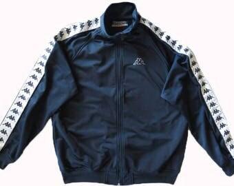 Vintage Kappa Navy Blue Track Jacket