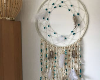 Dream catcher with feathers