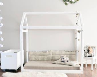 cama para nios pequeos montessori casa marco beb cama tamao doble casa moderna