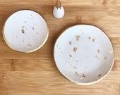 Polymer Clay Jewelry Dish, Ring Dish, Trinket Dish, Ring Holder (Joyero Tipo Plato)