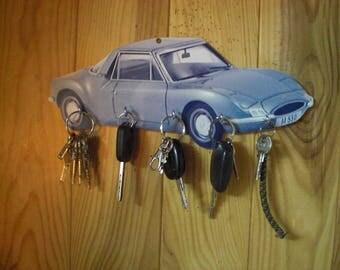 MATRA 530 M, vintage personalised key hook wall key holder