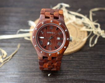 Groom Gifts Groomsmen Gift Watch Set Groomsmen Watches Will You Be My Groomsman Mens Wood Watches Best Man Watch Fiancé Gifts Wooden Watch