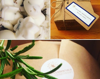 Lavender and Rosemary Soy Wax Melts