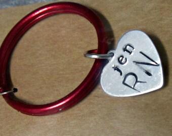 Stethoscope ID Tag, Stethoscope ID, Stethoscope Tag, Stethoscope Name Tag, Stethoscope Accessories, Nurse Gift, Doctor Gift, Pinning
