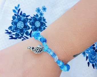 Into the Ocean Stretch Bracelet