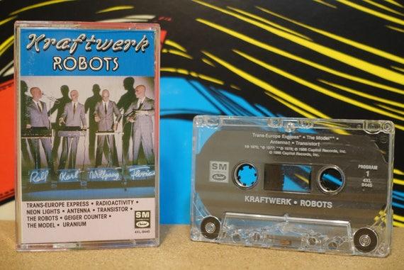 Robots by Kraftwerk Vintage Cassette Tape