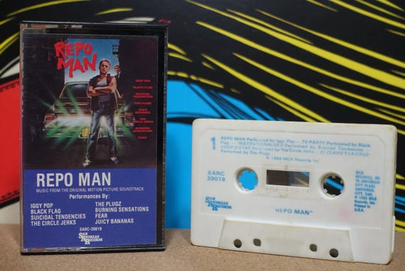 Repo Man (Music From The Original Motion Picture Soundtrack) by Various Artists Vintage Cassette