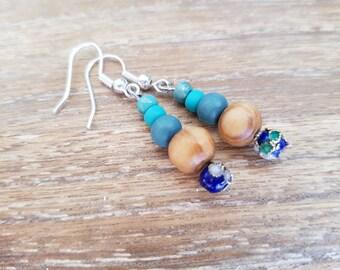 Earring pendants turquoise