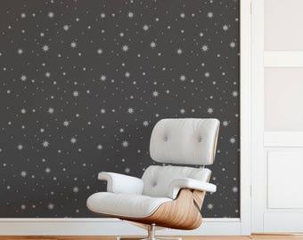 Twinkle Stars Stencil - Reusable DIY Wall Stencils of Twinkle Stars