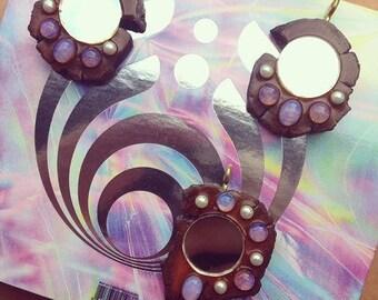 "Bassnectar's ""Reflective"" Inspired Opalite Pendants"