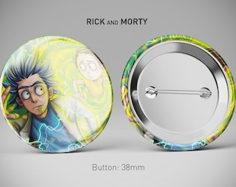 Rick and Morty - BUTTON