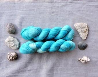 Laguna- Hand Dyed Yarn -  lace 100% merino wool