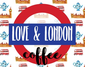 "COFFEE OPTION - July ""Love and London"" HootLoot Book Box"