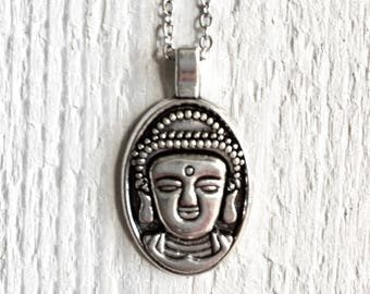 Sale / / / Buddha necklace in silver