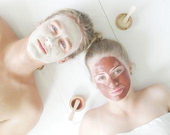 Clay Mask,Birthday gift for Friend,Herbal Mask,Face Mask,BeautyMask,Vegan Skincare,Natural Skincare,Gift under20,Detox Mask For Him For Her