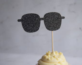 Sunglasses Cupcake Topper
