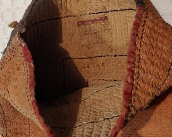 Antique Lamani Banjara sack bag from 1950s, Rare Lambani Banjara bag, Collector's piece, Gypsy sack bag, antique Kantha Bag