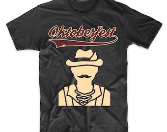 Oktoberfest Vintage Logo German Man T-Shirt