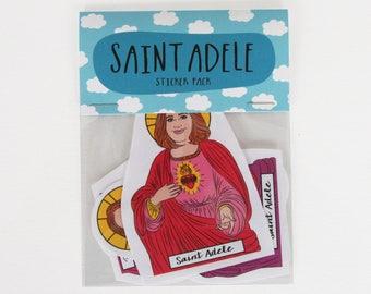 SAINT ADELE, Saint Adele stickers, Adele sticker pack, Adele sticker set, Adele tour, Adele print, Adele art, Hello Adele, Adele fan, 25
