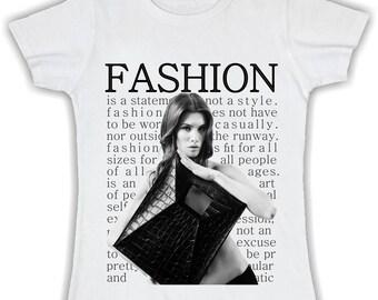 T shirt woman fashion mod. 1