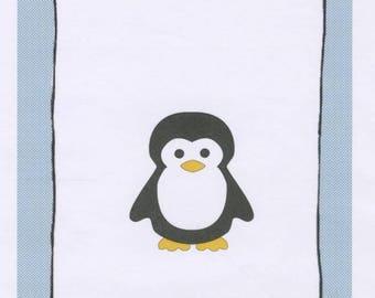 The Proper Penguin Quilt Pattern - Baby Quilt Pattern