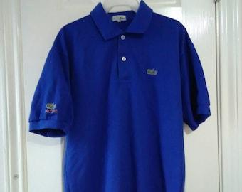 Vintage lacoste polo shirt sz large