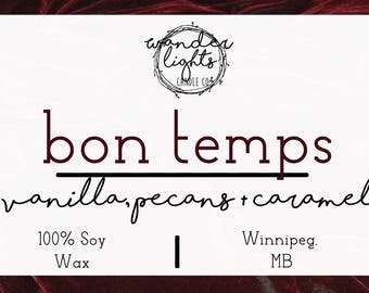 Bon Temps - True Blood Inspired Soy Candle
