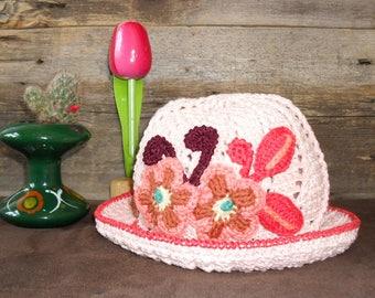 Vintage hat for children 2-4 years
