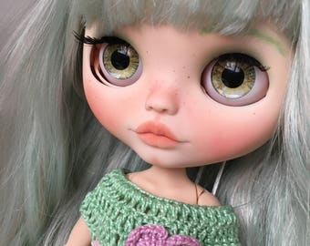 SARAY... blythecustom, doll, ooak... customized by my...