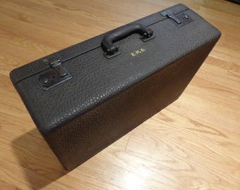 Walrus Skin Leather Suitcase - Small
