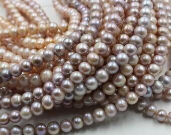 10 - 11 mm purple / pink round freshwater pearls, round pearl,15'' full strand, round pearl strands, pearl wholesale