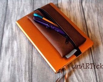Pen pencil-case for notebook