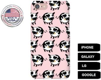 Cow Phone Case, Phone Case Cow, Cow iPhone Case, Cow Galaxy Case, Cow Google Pixel, iPhone 6 Plus Case, iPhone 5 Case, iPhone SE Case, LG G5