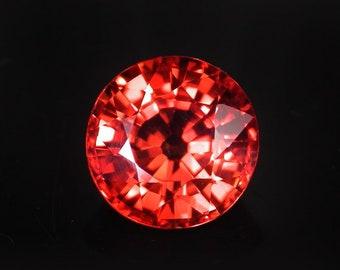 6.1 ctw. golden sapphire loose gemstone.