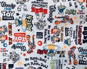 Toy Story Potato Head Fabric Made in Japan