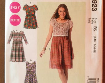 McCall's 6923 - Petite Romper and Dress Pattern