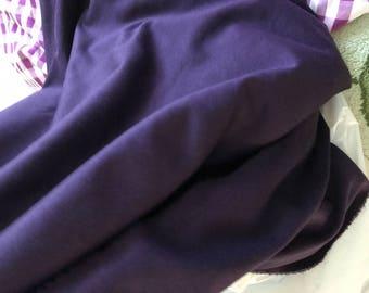 Jersey fabrics in 150 cm wide mauve color