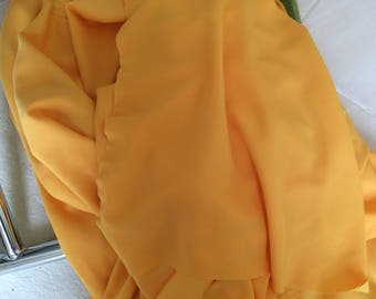 Very beautiful yellow tissue and crepe