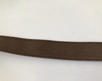 18 mm Brown elastic Ribbon