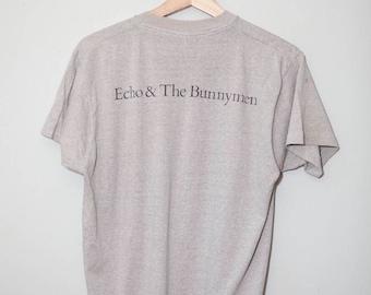 Rare Vintage 1984 Echo and the Bunnymen Tour Shirt | Medium