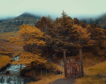 Fairytale path, Faroe islands