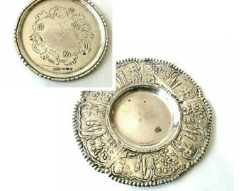 Antique Bonbon Dish and Vintage Georg Jensen Sterling Silver Pin Tray - 2 Styles (216)