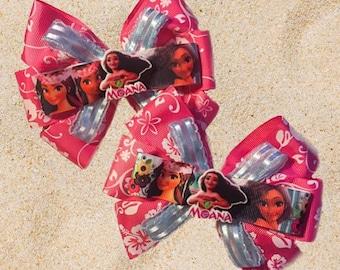 Moana Disney Princess Hair Bow Accessory