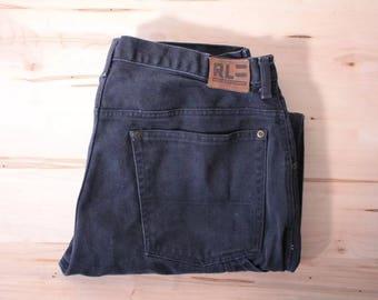 Polo Jeans Company carpenter pants Ralph Lauren heavy jeans men's 33x30