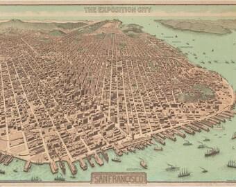 1912 - The Exposition City- San Francisco
