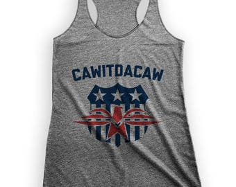Cawitdacaw, July 4th, Kid Rock | Racerback Tank Top