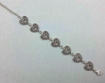 """Bracelet """"Hearts"""""""
