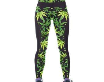 Workout Weed Leggings