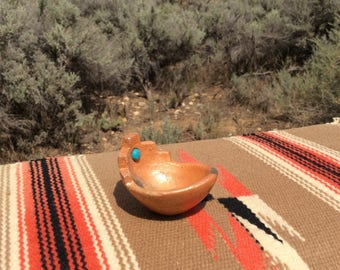 Southwestern Micaceous Miniature Blessing Bowl from New Mexico