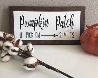 Pumpkin Patch Sign, Fall Sign, Fall Decor, Pumpkin Sign, Fall
